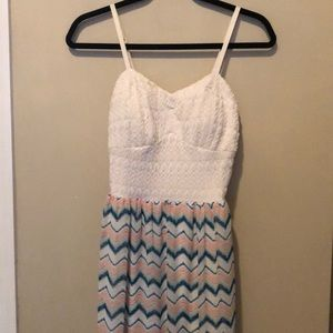 Adorable Lily Rose dress. Comfy and cool material.